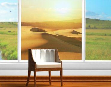 Decorazione per finestre The Desert Of Saudi Arabia