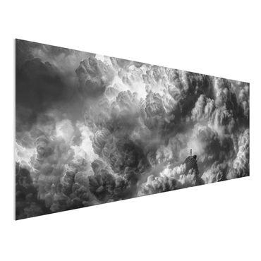 Quadro in forex - Una tempesta è in arrivo - Panoramico