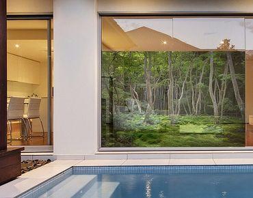 Decorazione per finestre Japanese Forest