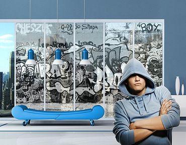 XXL Pellicola per vetri - Graffiti Art