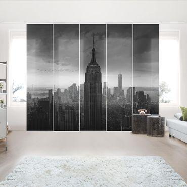 Tende scorrevoli set - New York Rockefeller View