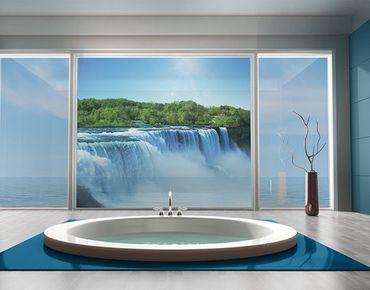 Decorazione per finestre Waterfall Landscape