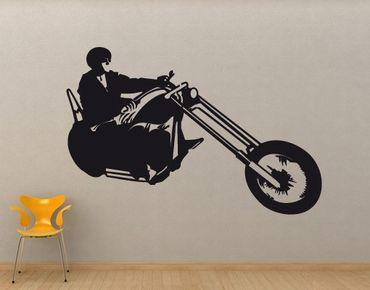 Adesivo murale No.UL695 Biker
