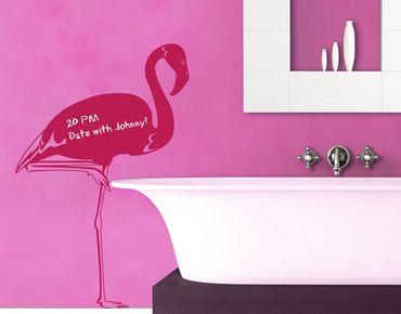 Adesivo murale lavagna no.IS48 Flamingo
