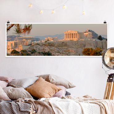 Poster - acropoli - Panorama formato orizzontale