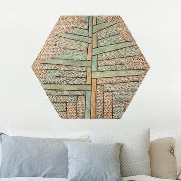 Esagono in Alu-dibond - Paul Klee - Kiefer