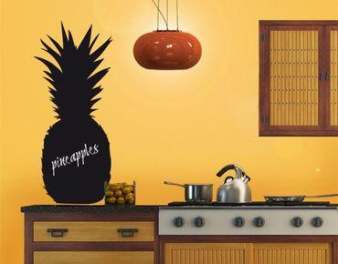 Adesivo murale lavagna no.EK87 Pineapple