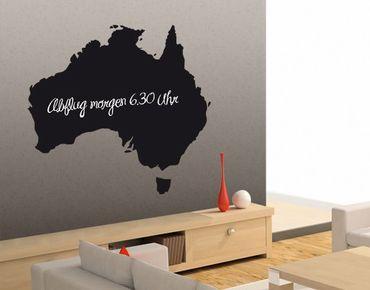 Adesivo murale lavagna no.EK88 Australia