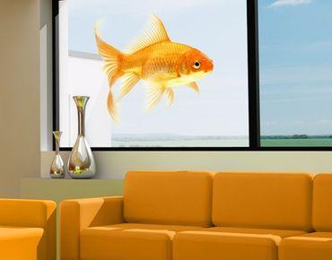 Decorazione per finestre Miss Goldfish