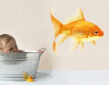 Adesivo murale no.432 Miss Goldfish