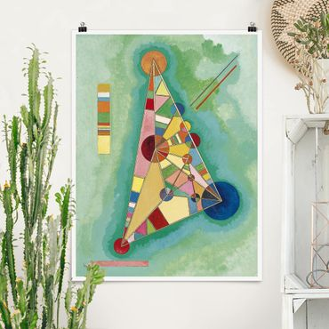Poster - Wassily Kandinsky - Triangolo - Verticale 4:3