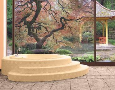 Decorazione per finestre Japanese Garden