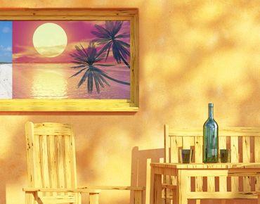 Decorazione per finestre Caribbean Sunset