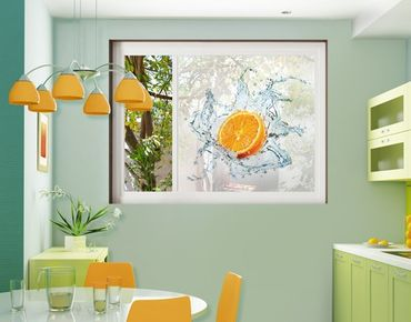 Decorazione per finestre Fresh Orange