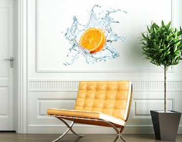 Adesivo murale no.434 Fresh Orange