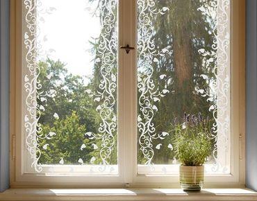 Adesivo per finestre - no.CA12 Autumn Borders