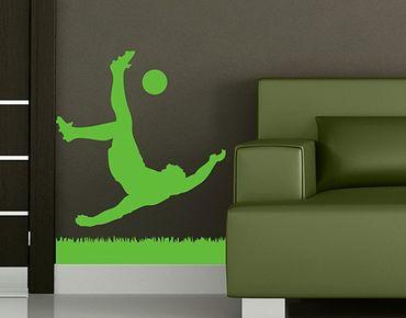 Adesivo murale no.1033 Footballer In Action