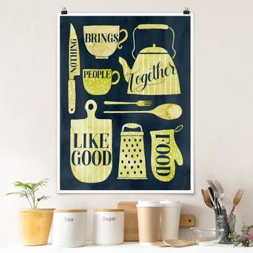 Poster - Soul Food - Good Food - Verticale 4:3