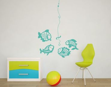 Adesivo murale no.MW103 Vegetarian Fish