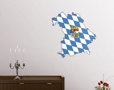 Adesivo murale no.AC103 Bavaria
