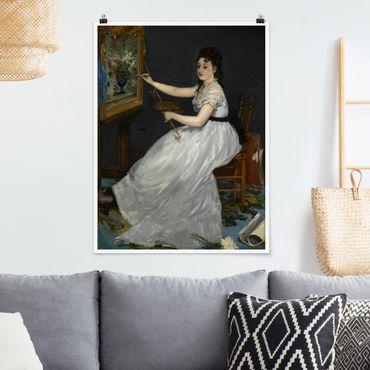 Poster - Edouard Manet - Eva Gonzalès - Verticale 4:3