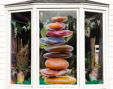 Adesivi da finestra no.448 Stones In Balance