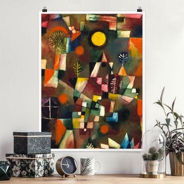 Poster - Paul Klee - La Luna Piena - Verticale 4:3