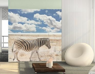 Decorazione per finestre Zebra From Savannah
