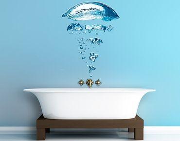 Adesivo murale no.596 Water Jellyfish