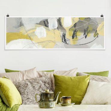 Poster - Limoni nella foschia I - Panorama formato orizzontale