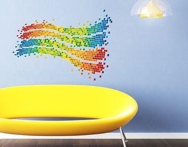 Adesivo murale no.492 Digital Wave