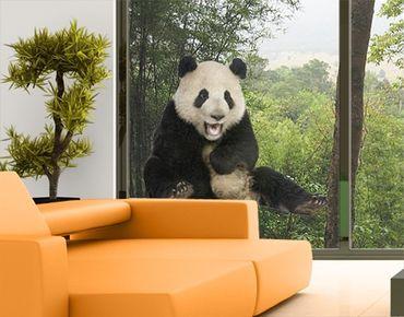 Adesivi da finestra no.501 Laughing Panda