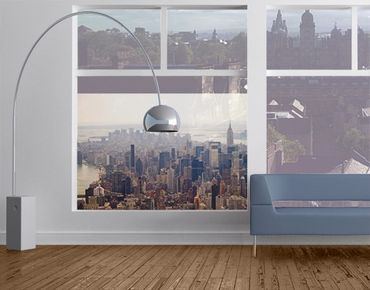 Decorazione per finestre Morning In New York