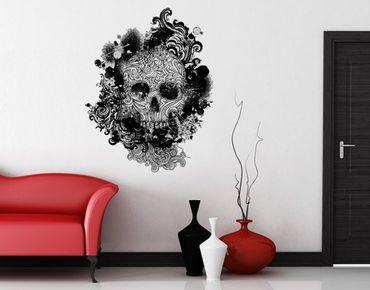 Adesivo murale no.503 Skull