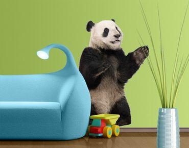Adesivo murale no.509 Sitting Panda