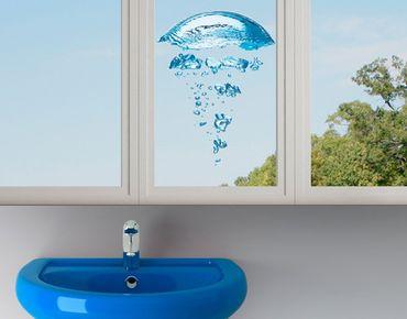 Adesivi da finestra no.596 Water Jellyfish