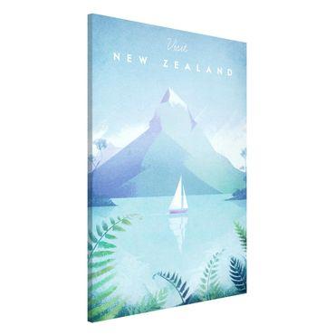 Lavagna magnetica - Poster Viaggi - Nuova Zelanda - Formato verticale 2:3