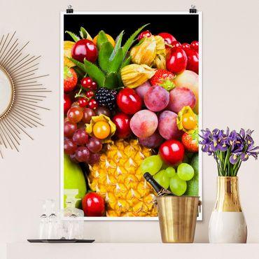 Poster - bokeh frutta - Verticale 3:2