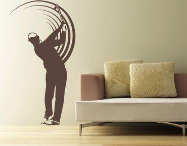 Adesivo murale no.UL743 Golfer