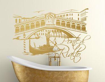 Adesivo murale no.FB91 Ponte Di Rialto