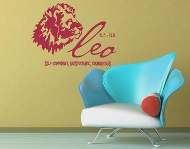 Adesivo murale no.UL756 Zodiac Sign Leo
