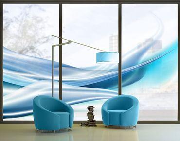 XXL Pellicola per vetri - Blue Dust