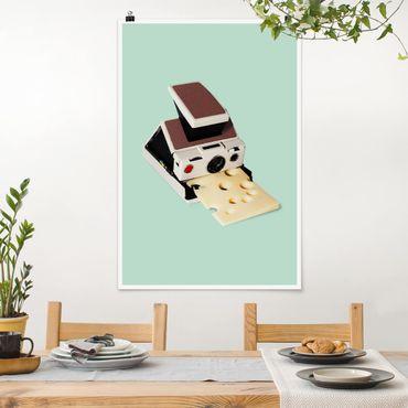 Poster - Jonas Loose - Camera Con Formaggio - Verticale 3:2