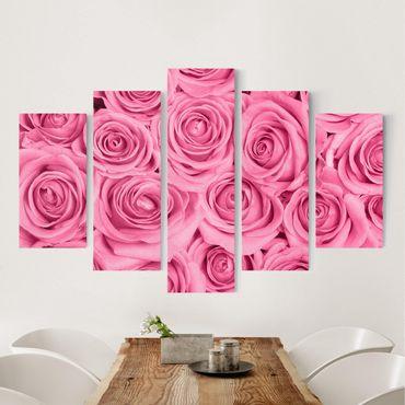 Stampa su tela - Pink Roses