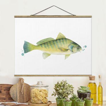 Foto su tessuto da parete con bastone - ColorCatch - Perch - Orizzontale 3:4