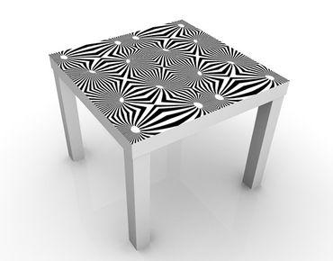 Tavolino design Abstract Black and White Design