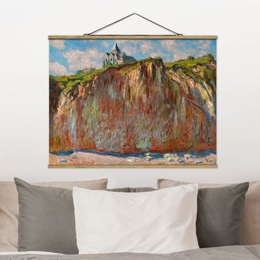 Foto su tessuto da parete con bastone - Claude Monet - Varengeville Morning Light - Orizzontale 3:4