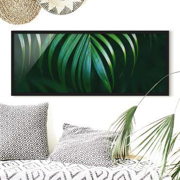 Poster con cornice - Fronda - Panorama formato orizzontale
