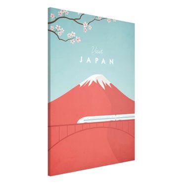 Lavagna magnetica - Poster Viaggio - Giappone - Formato verticale 2:3