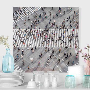 Stampa su tela - Traffico dall'alto